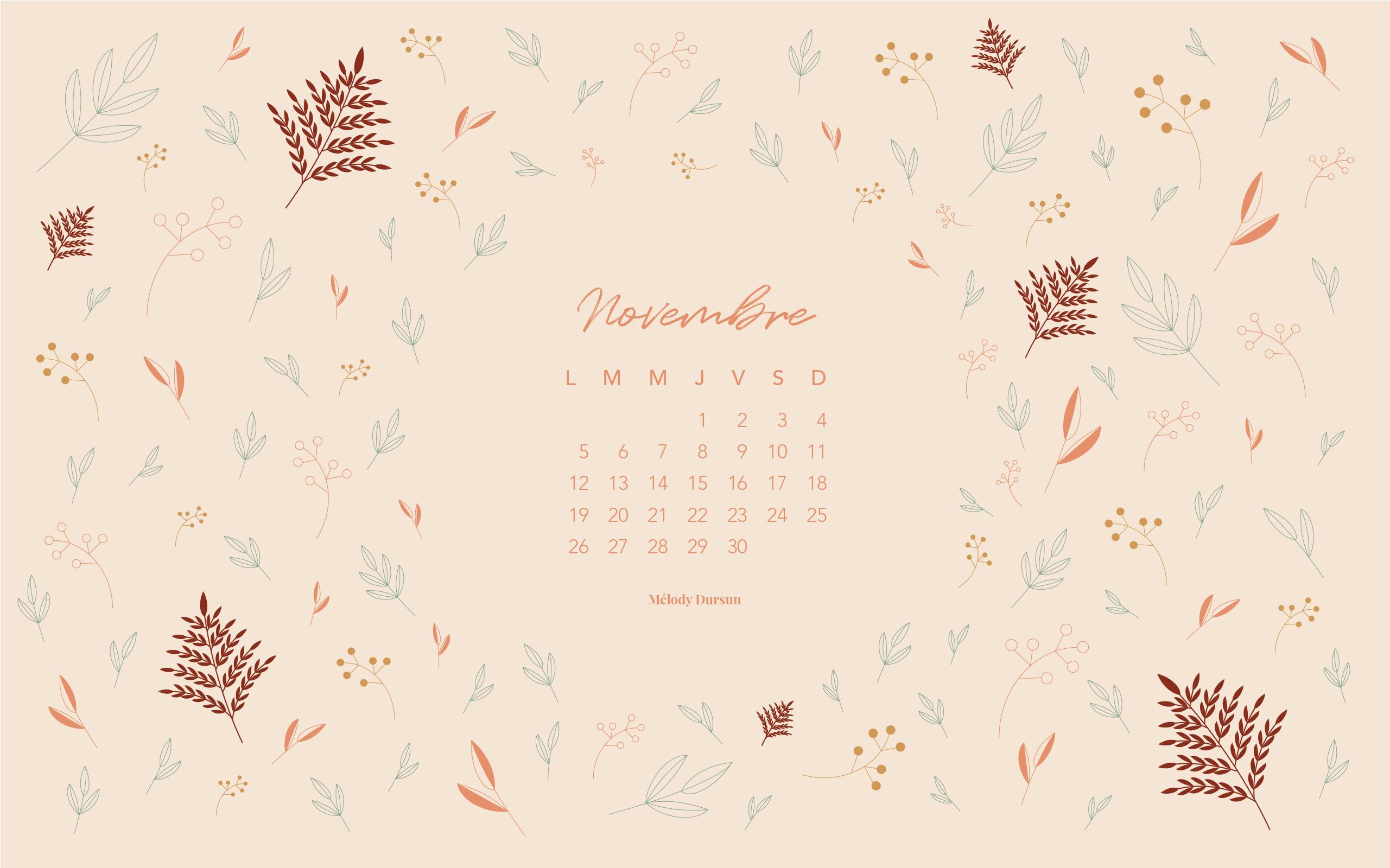 melodydursun-calendrier-novembre2018