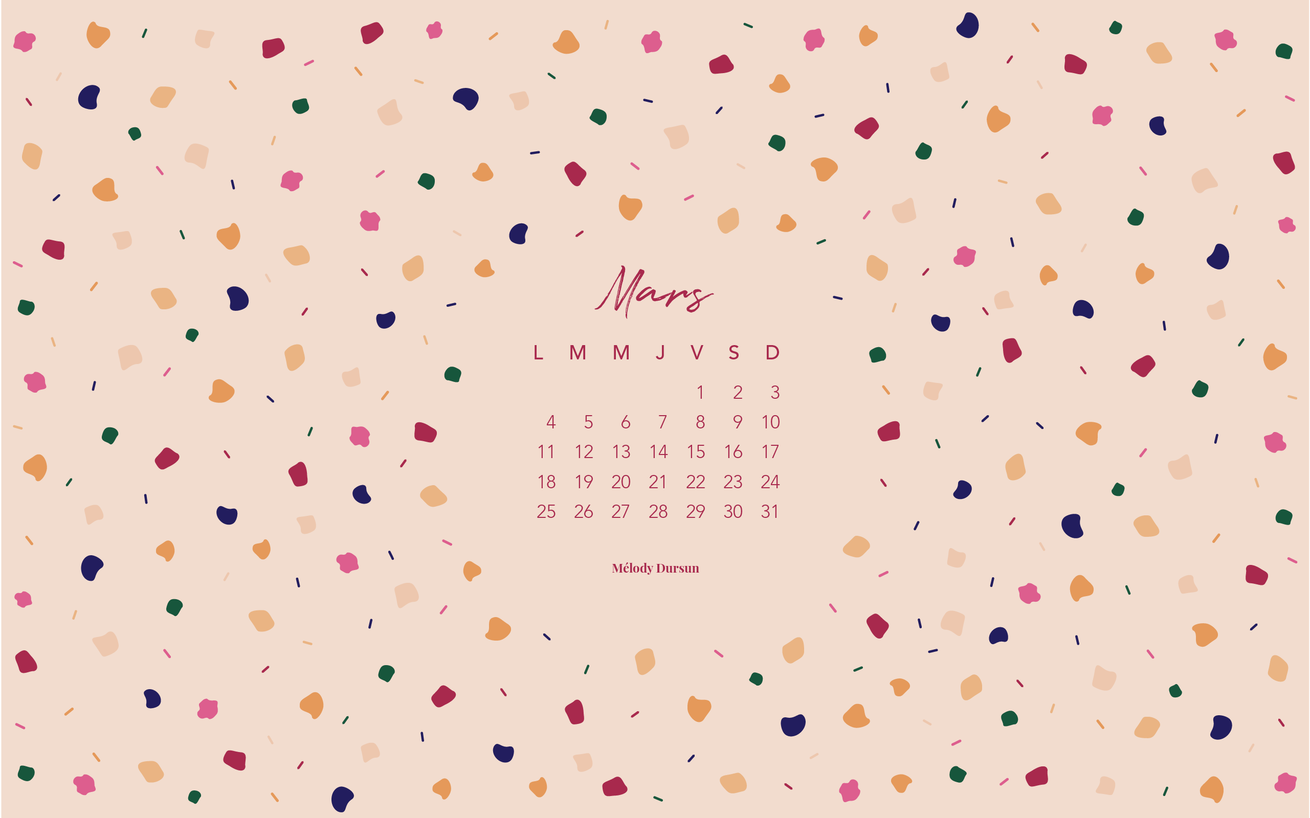 melodydursun-calendrier-mars2019